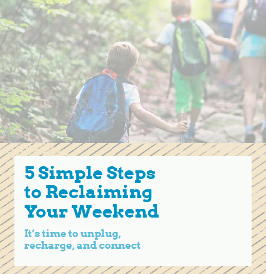 5 Simple Steps To Reclaiming Your Weekend Cover
