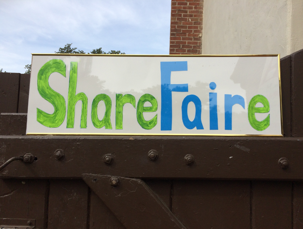 Share Faire Sign