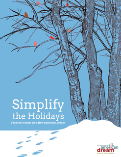 Simplify The Holidays Booklet Cover