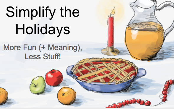 Simplify The Holidays Community Presentation