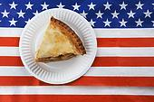 Pie On Flag
