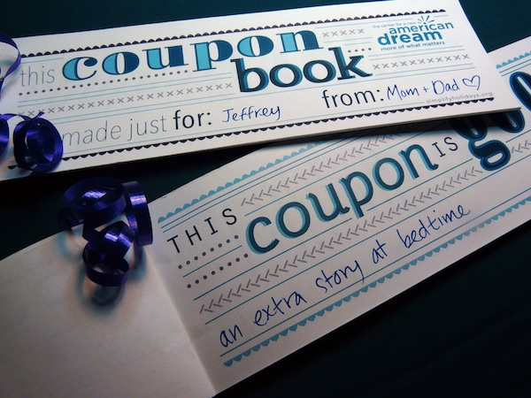 New Dream Coupon Book New Dreams Printable Coupon Book A