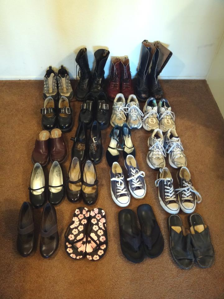 New Dream Stuffcheck How Many Shoes Do You Own